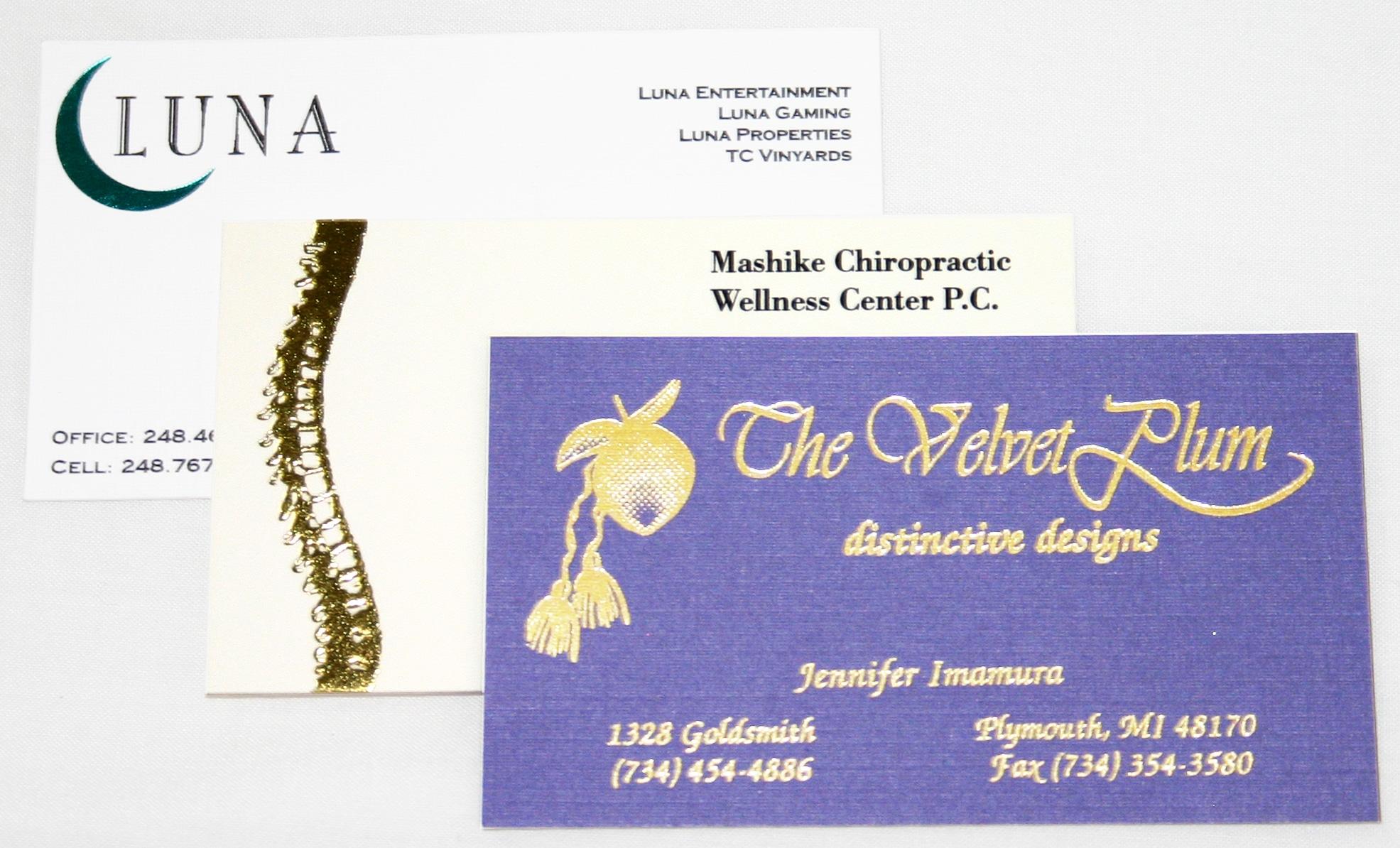 BUSINESS CARDS - Greko Printing and Imaging